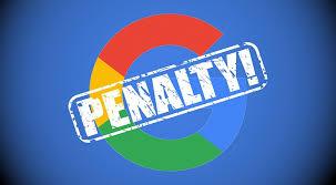 پنالتی شدن سئوسایت توسط گوگل